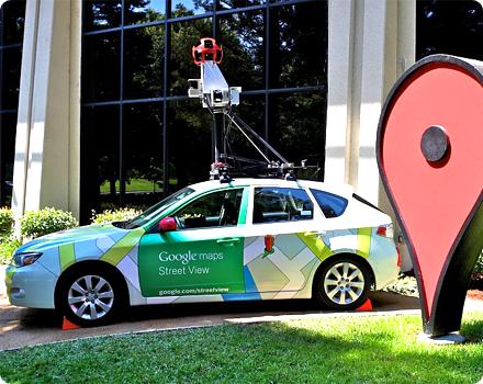 Street View cars Google